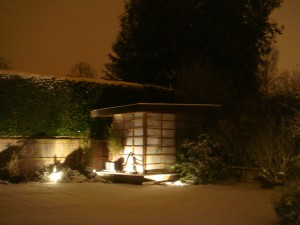 The teahouse in the snow, again