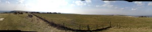 Looking south from Ditchling Beacon