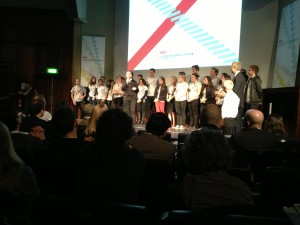 The hard-working LBS students who organised the superb event